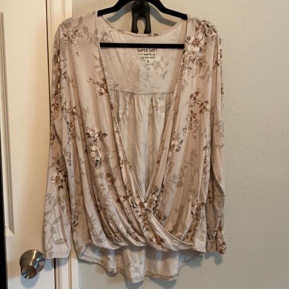Torrid Wrap Shirt